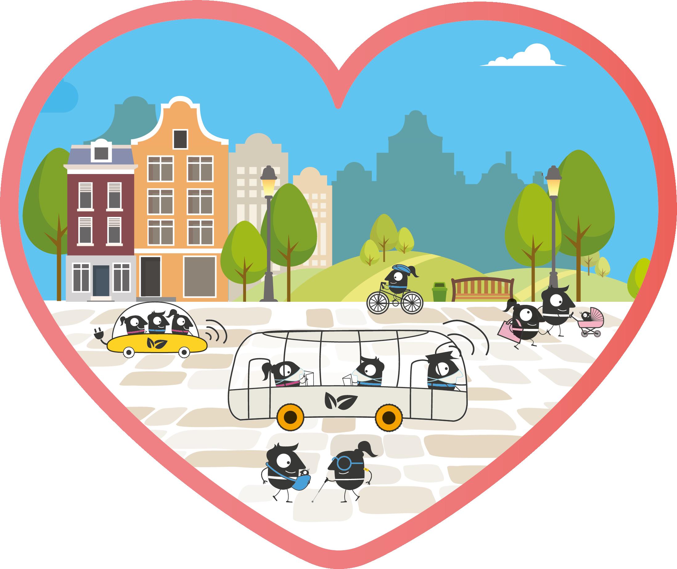 Európai Mobilitási Hét jelképe